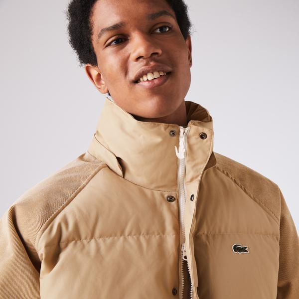 Lacoste Men's LIVE Hooded Short Jacket