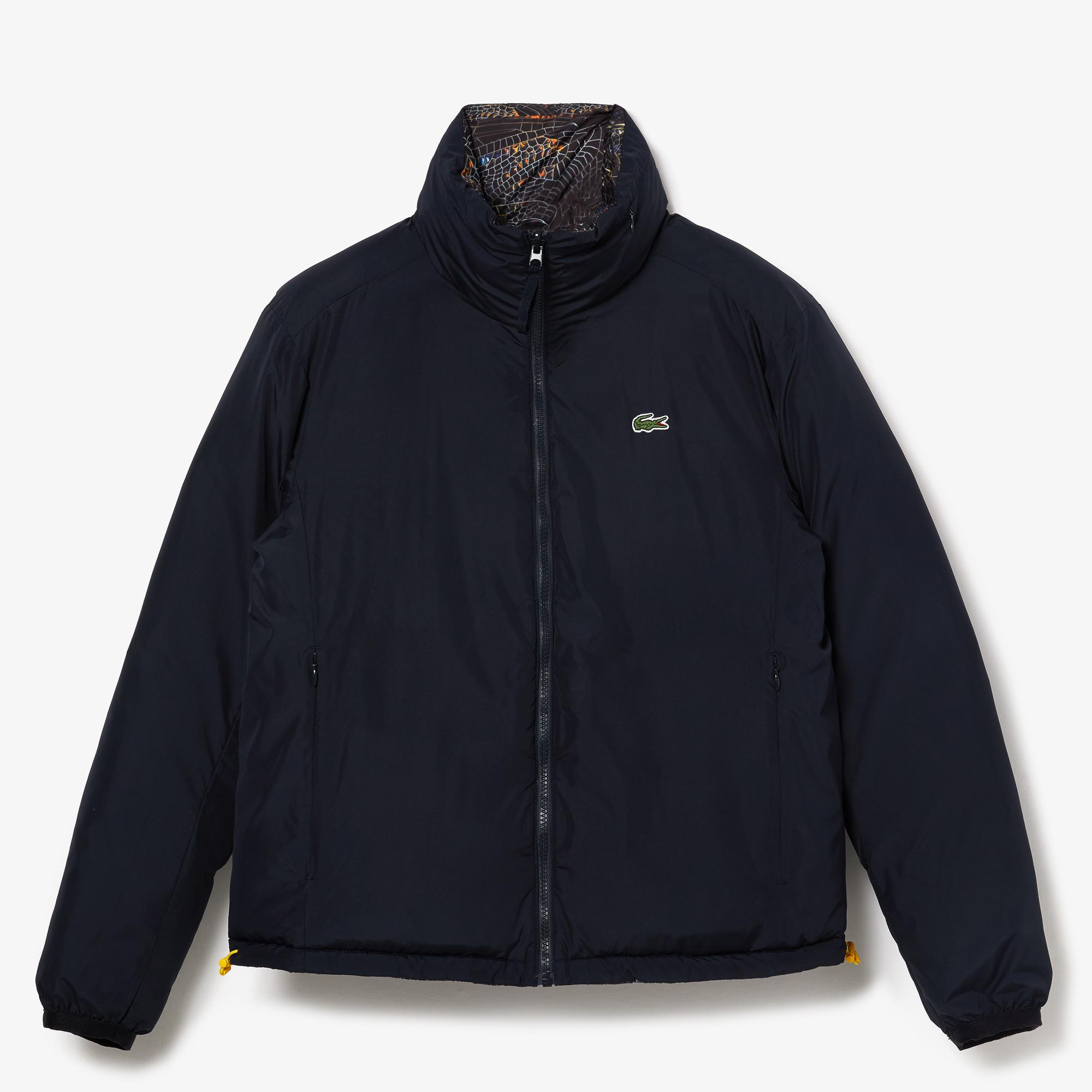 Lacoste Women's x National Geographic Print Quilted Jacket