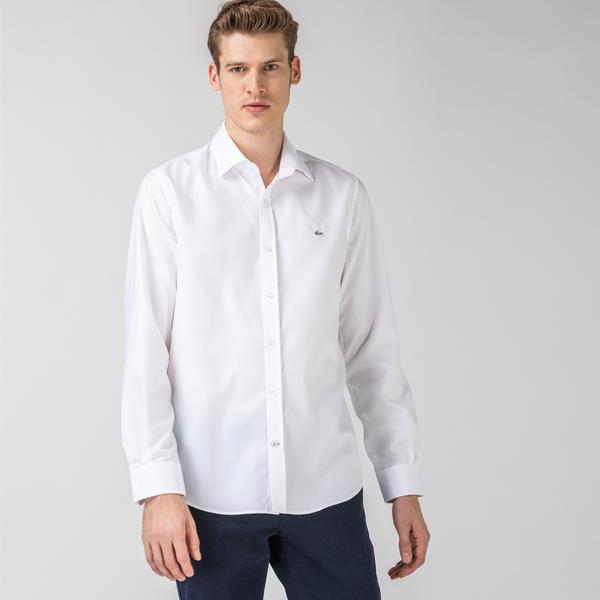 Lacoste Men's Long Sleeve Wovens Shirt
