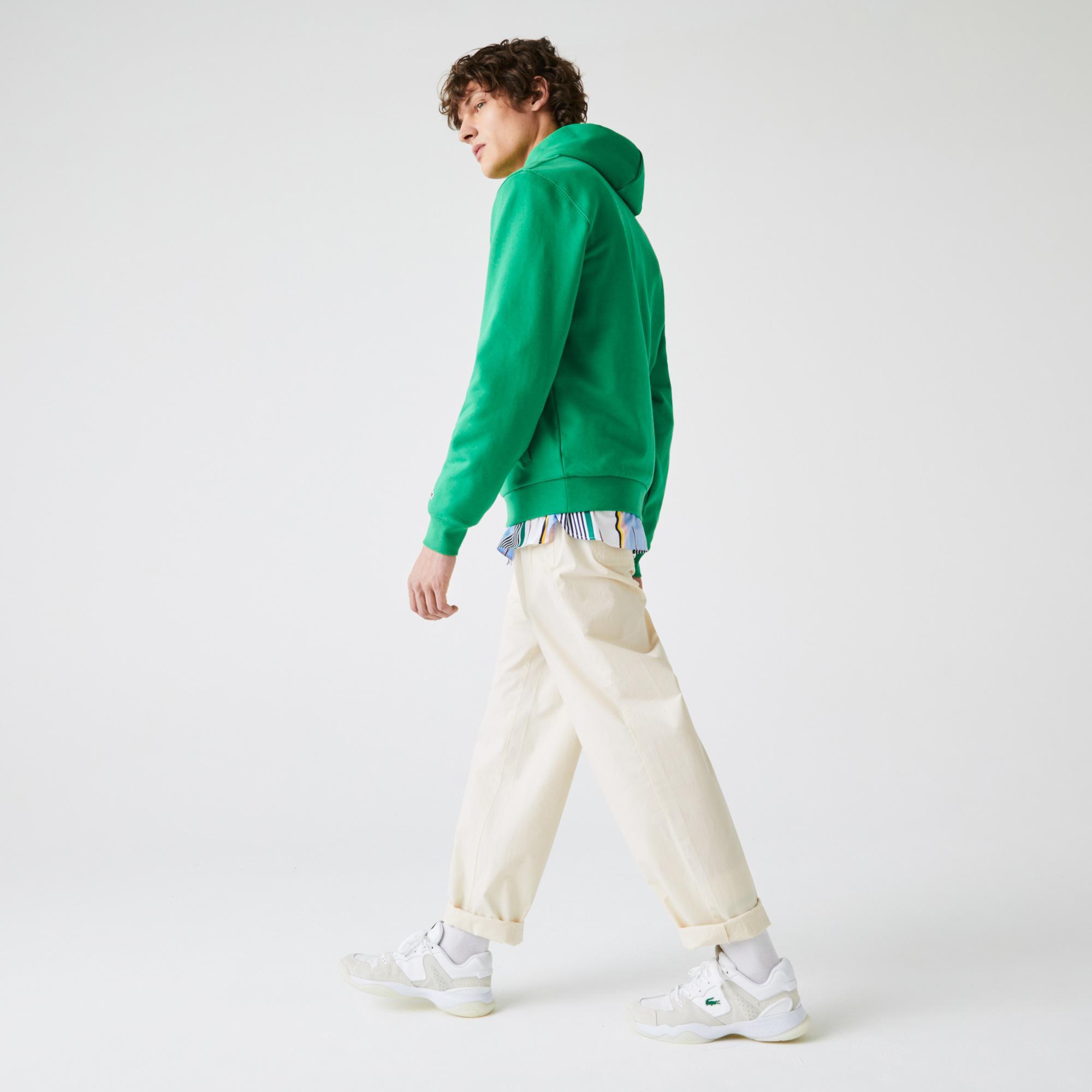 Lacoste Men's Lightweight Stretch Poplin Chino Pants