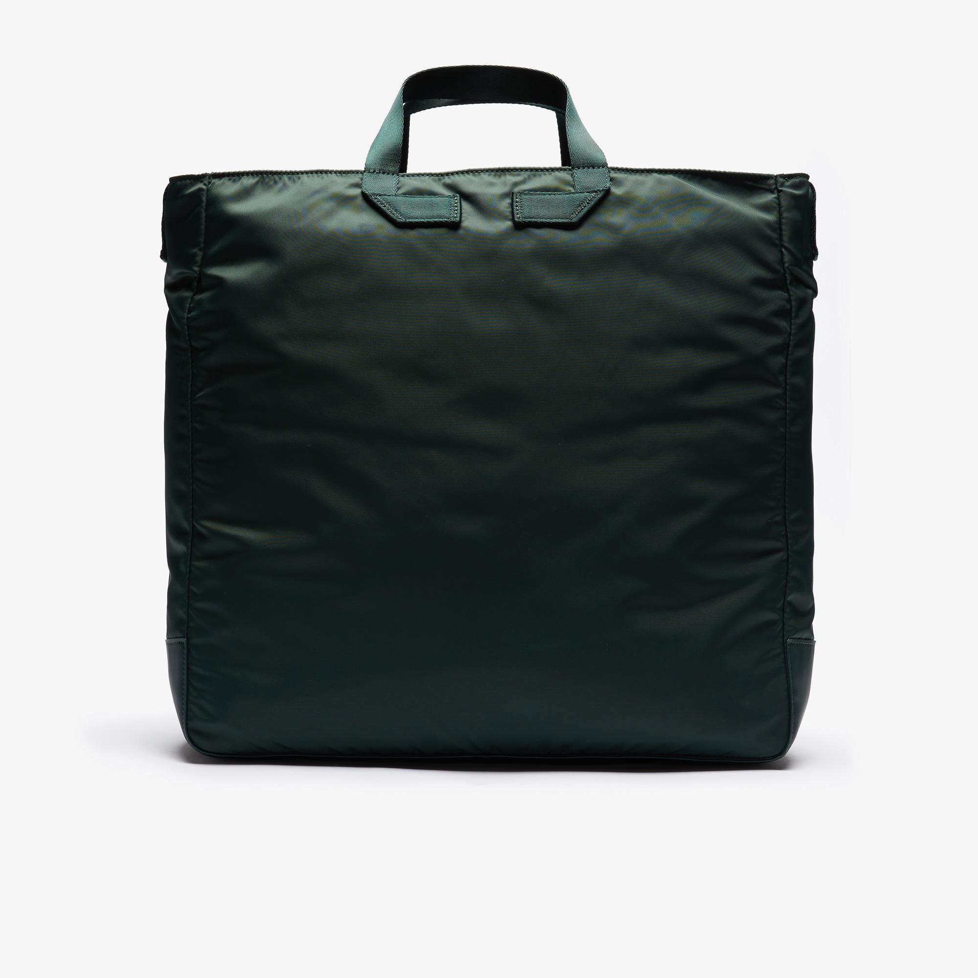 Lacoste Unisex Back To L Multipocket Nylon Tote Bag