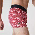 Lacoste Men's Valentine's Day Stretch Cotton Trunk 3-Pack