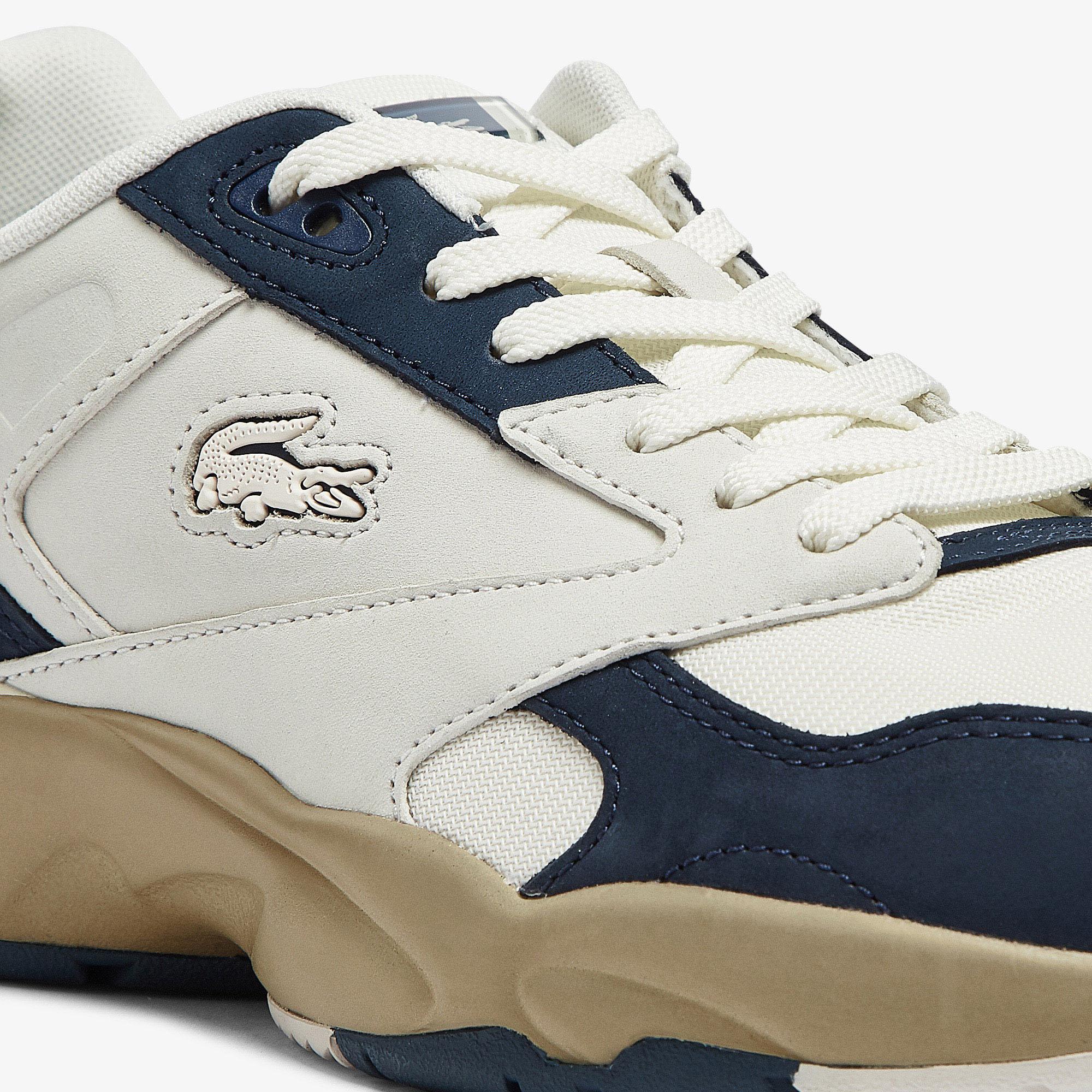 Lacoste Men's Storm 96 Lo Nubuck Leather Trainers