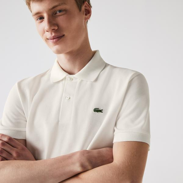 Lacoste Men's Classic Fit L.12.21 Organic Cotton Piqué Polo Shirt