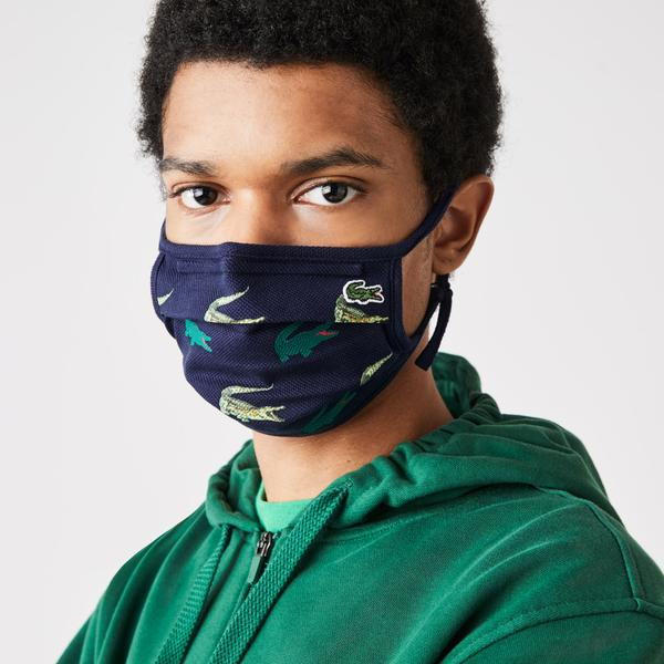 Lacoste L.12.12 Cotton Mask