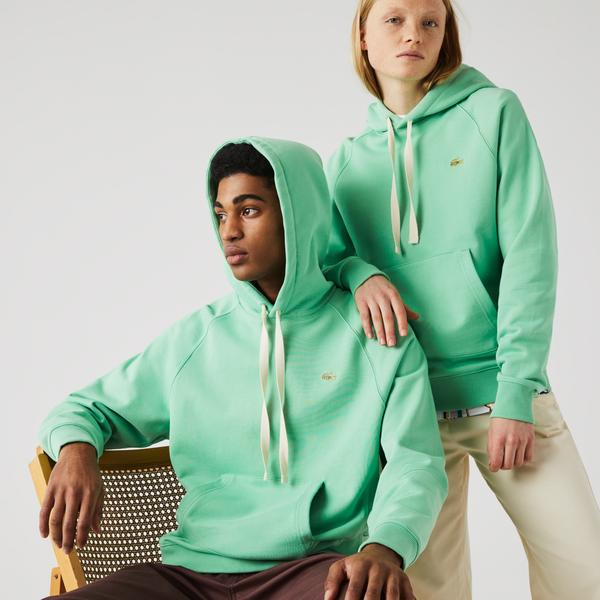 Lacoste L!VE Unisex Hooded Cotton Sweatshirt