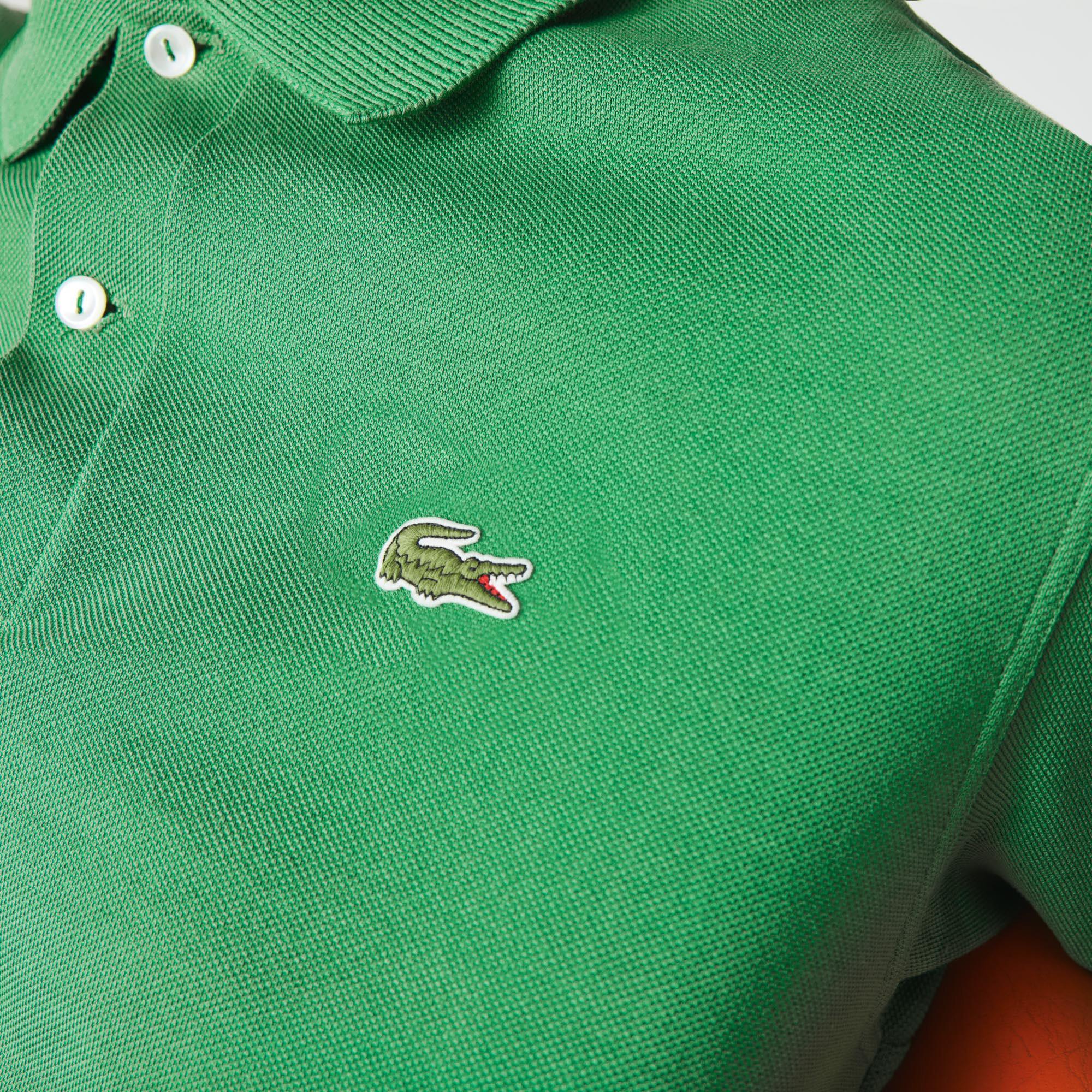 Lacoste Men's Classic Fit L.12.21 Organic Cotton Piqué Polo Shirt