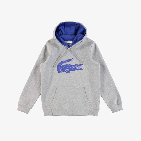 Lacoste Kids Hoodie Printed Sweatshirt