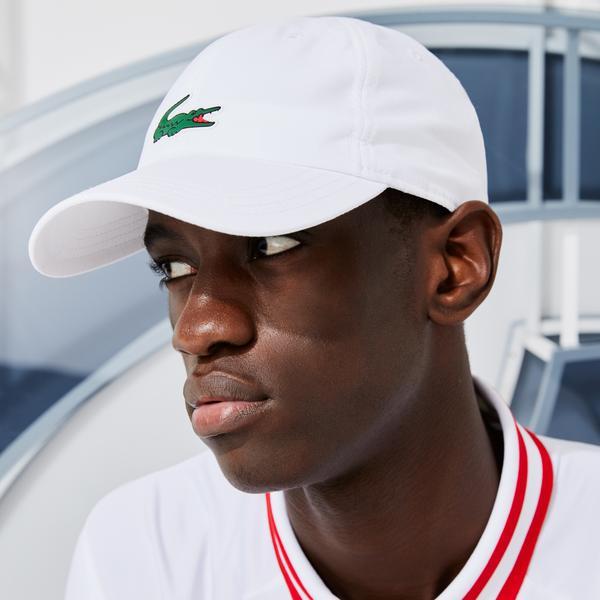 Lacoste SPORT Men's x Novak Djokovic Microfiber Cap
