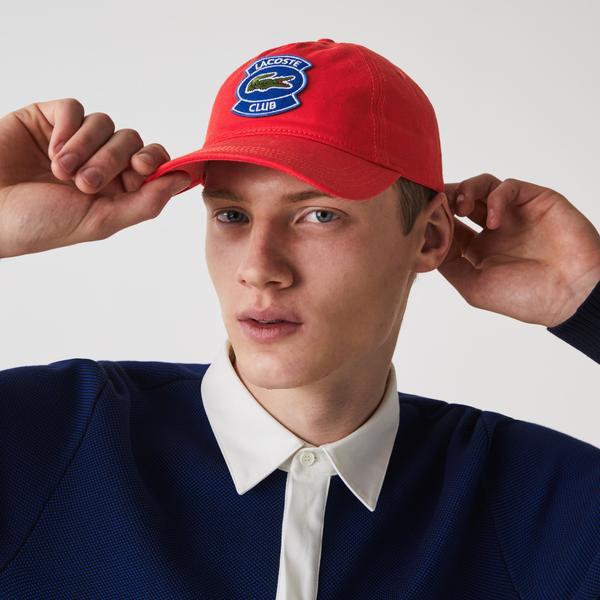 Lacoste Men's Badge Cotton Cap