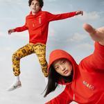 Lacoste x Polaroid Unisex Cotton Fleece Sweatshirt