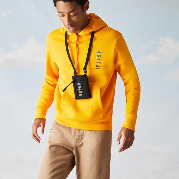 Lacoste x Polaroid Men's Neck Strap Mini Wallet Bag