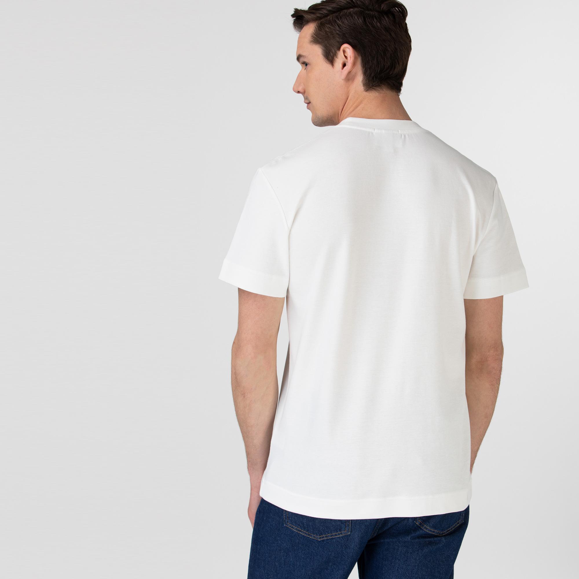 Lacoste Unisex Crew Neck Organic Cotton T-shirt