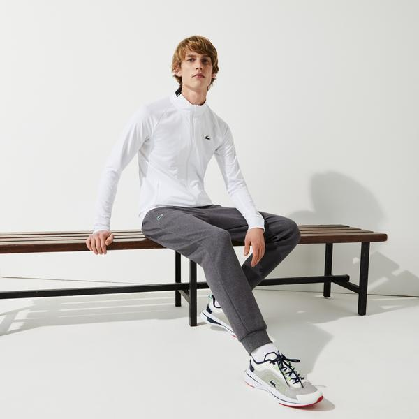 Lacoste Men's Mesh Panels Tracksuit Pants