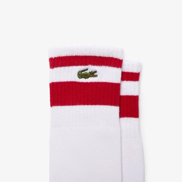 Lacoste SPORT Men's Long Stretch Cotton Tennis Socks