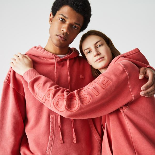 Lacoste L!VE Unisex Loose Fit Sweatshirt