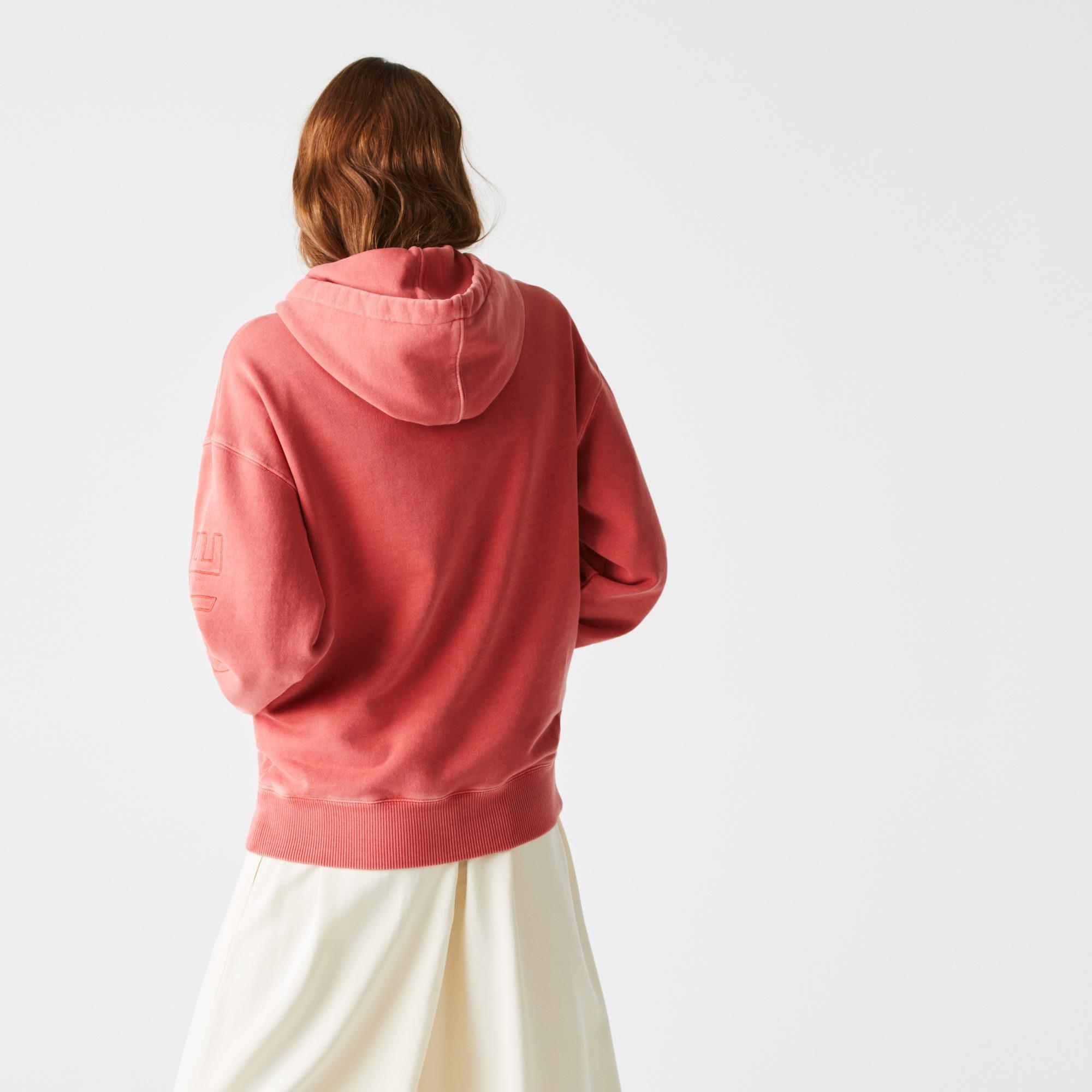 Lacoste L!VE Unisex Loose Fit Sweatshirt