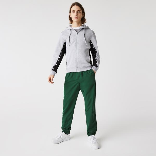 Lacoste Men's Colourblock Fleece Zip Hoodie