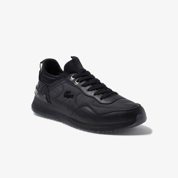 Lacoste Men's Joggeur 3.0 Textile and Leather Winterised Sneakers