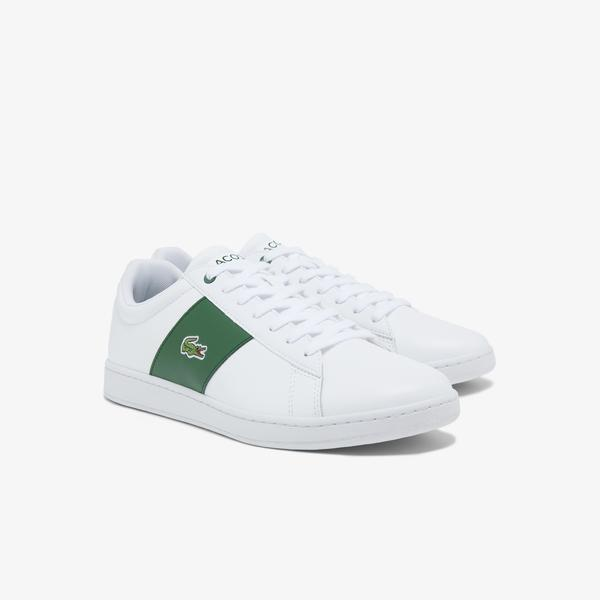 Lacoste Men's Carnaby Leather and Synthetic Sneakers